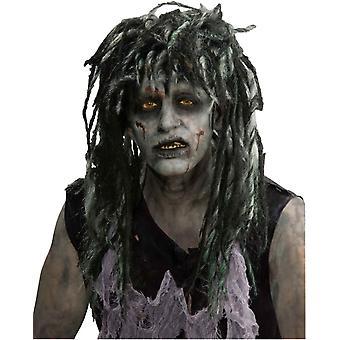 Parykk For Rocker Zombie