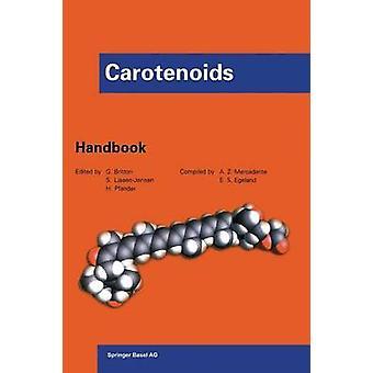 Carotenoids  Handbook by Britton & George