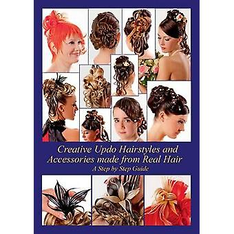 Creative Updo Hairstyles and Accessories made from Real Hair by Elistratow & Helene
