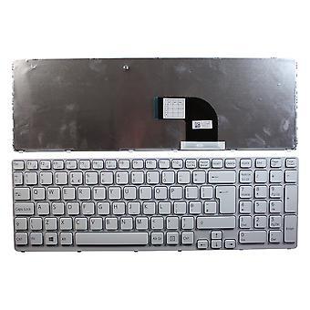 Sony Vaio SVE171C11M weißen Rahmen weiß Windows 8 UK Layout Ersatz Laptoptastatur