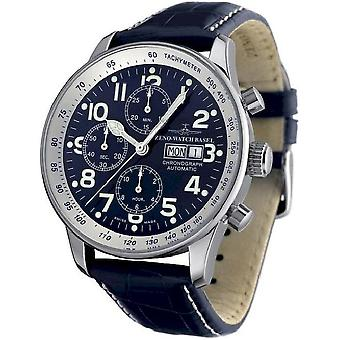 Zeno-watch mens watch X-large pilot chronograph-date special P557TVDD-b4