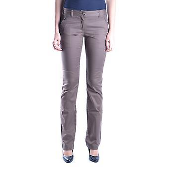 Juste Cavalli Ezbc141026 Pantalons en coton gris