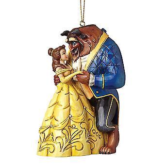 迪士尼传统美容与野兽悬挂装饰