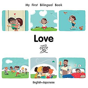 My First Bilingual Book-Love (English-Japanese) by Milet Publishing -