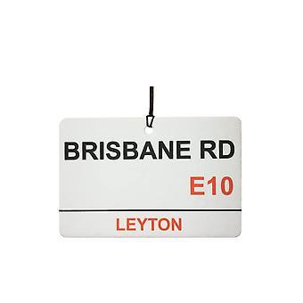 Leyton Orient / Brisbane Rd Street Sign Auto-Lufterfrischer