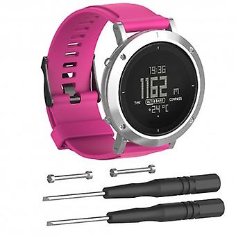 Sports armbånd for Suunto Core Essential-Pink