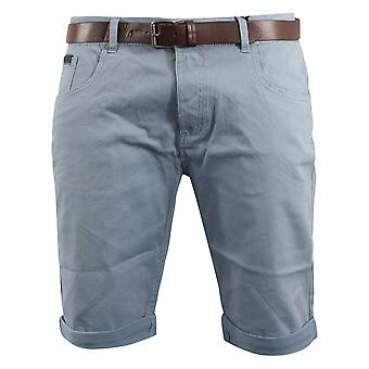 Mens oxford belted shorts smith and jones