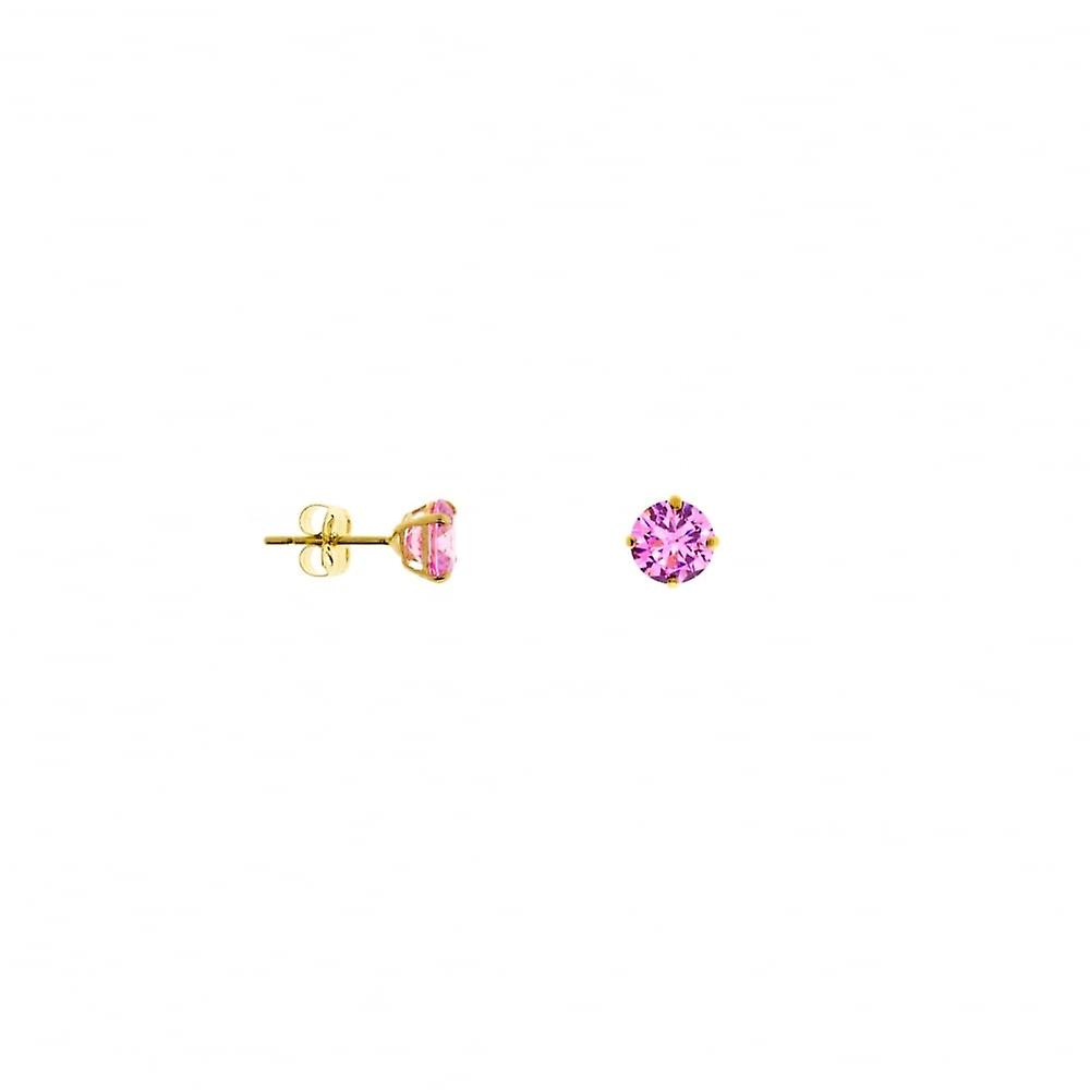 Eternity 9ct Gold October Opal Stud Earrings