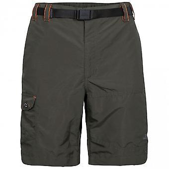 Trespass Mens Rathkenny Belted Shorts