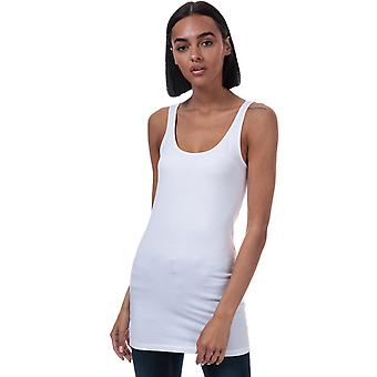 Femmes Vero Moda Maxi Long Tank Top In Bright White