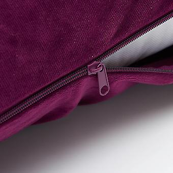 Beckasin Fodral Purple Velour do poduszki ciała Eleonora U-shape
