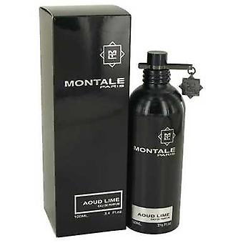 Montale Aoud Lime Von Montale Eau De Parfum Spray (unisex) 3.4 Oz (Frauen) V728-536218