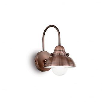 Ideel Lux Sailor Wall Light D20 kobber