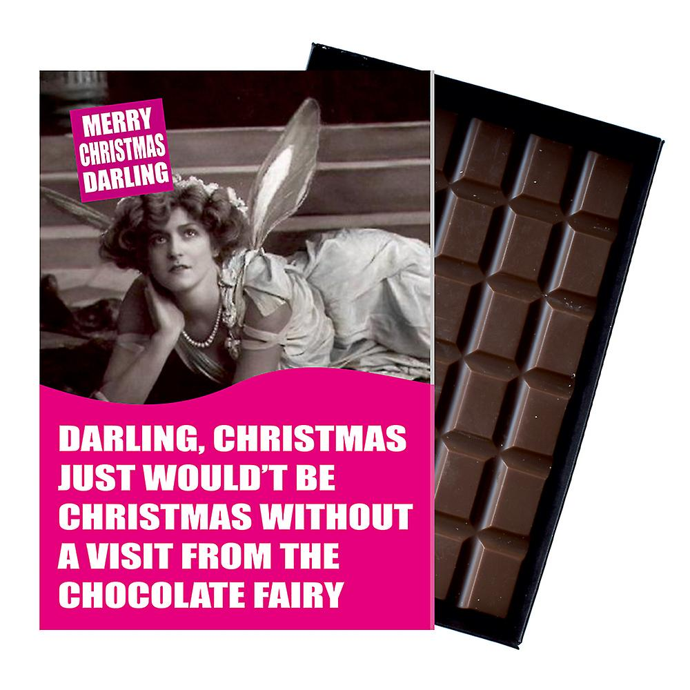 Funny Christmas Gift For Men Women boxed Chocolate Greeting Card Present for Him or Her CDL159