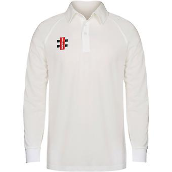 Gray-Nicolls - Kids Matrix Long Sleeve Cricket Shirt