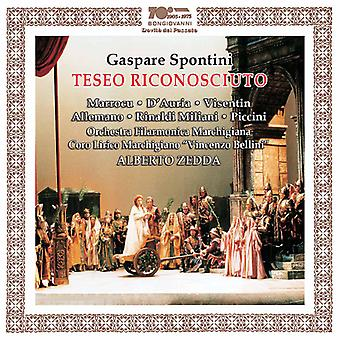 Spontini / Zedda - Gaspare Spontini: Teseo Riconosciuto [CD] USA import