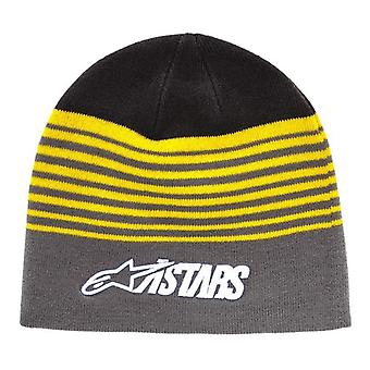 Alpinestars Knitted Cuff Beanie ~ Purps charcoal