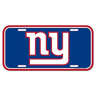 Wincraft NFL License Plate - New York Giants