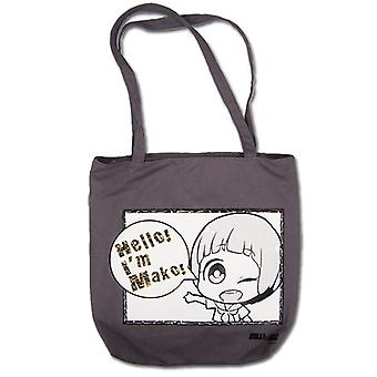 Tote Bag - Kill la Kill - New Hello I'm Mako Anime Hand Purse ge11988
