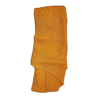 Pleated Scarf - Mustard by Peony
