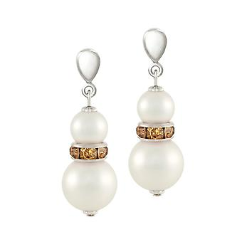 Eternal Collection Alpine Lt Topaz Crystal Shell Pearl Silver Tone Drop Clip On Earrings Eternal Collection Alpine Lt Topaz Crystal Shell Pearl Silver Tone Drop Clip On Earrings Eternal Collection Alpine Lt Topaz Crystal Shell Pearl Silver Tone Drop Clip On Earrings Eternal Collection