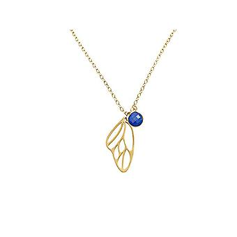 Gemshine Necklace with Donna vermeil pendant - Cal4zo