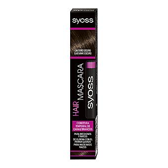 Syoss Hair Mascara Cobertura Temporal #castaño Oscuro 16 Ml For Women