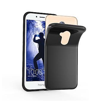 Cadorabo Hülle für Honor 6A hülle case cover - Handyhülle aus flexiblem TPU Silikon – Silikonhülle Schutzhülle Ultra Slim Soft Back Cover Case Bumper