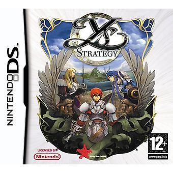 YS stratégia (Nintendo DS)-nové