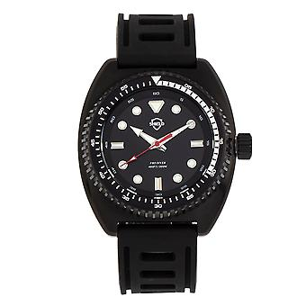 Shield Dreyer Men's Diver Strap Watch - Black