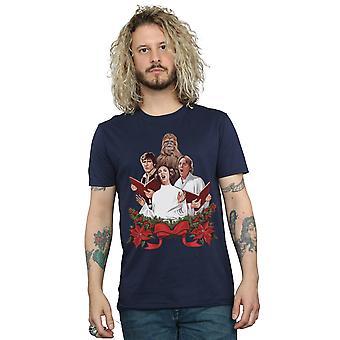 Star Wars Men's camiseta de villancicos de Navidad
