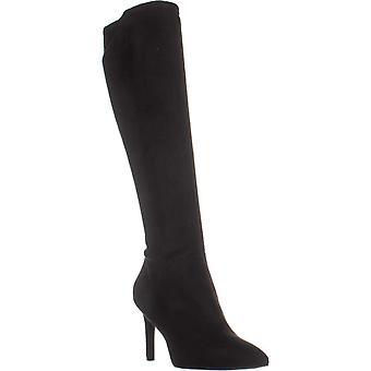 Nio West Womens Chelsis pekade tå knä höga mode stövlar