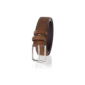 35mm Genuine Suede Leather Belt