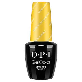 OPI GelColor Gel Farbe - Soak Off Gel Polish - Never A Dulles Moment 15ml (GC W56)