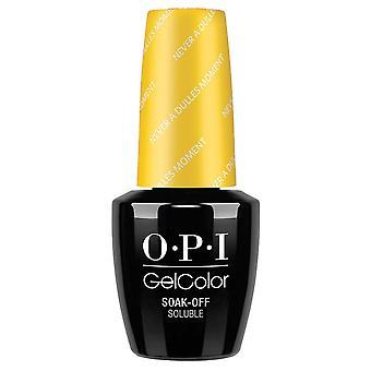 OPI GelColor Gel Color - Soak Off Gel Polish - Never A Dulles Moment 15ml (GC W56)