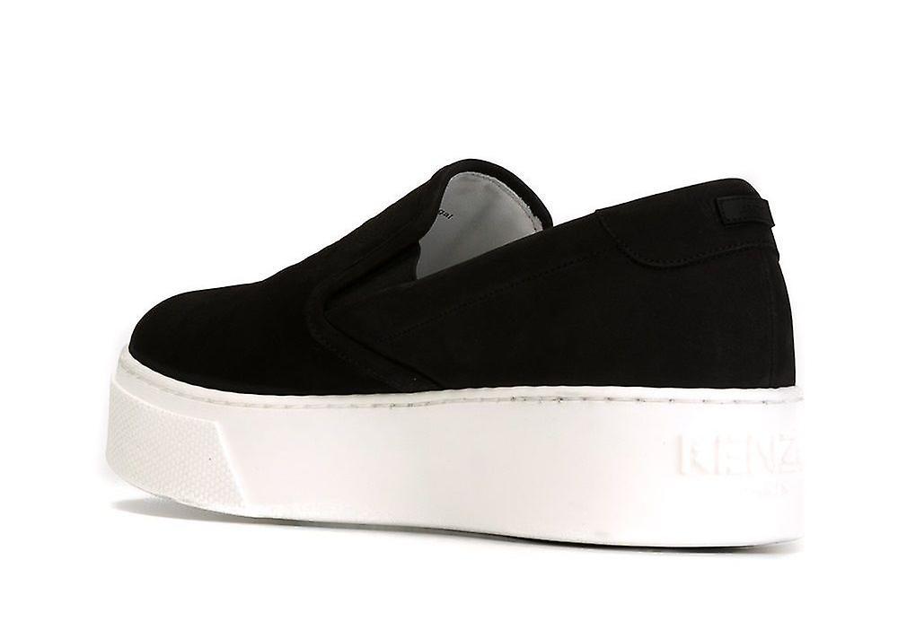 Tiger Platform Slip On Sneakers