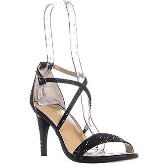 Thalia Sodi Womens Darria4 Fabric Open Toe Special Occasion Strappy Sandals