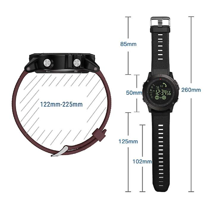 Zeblaze VIBE 3 Smartwatch Smartband Smartphone Fitness Sport Activity Tracker Watch OLED iOS Android iPhone Samsung Huawei Blue