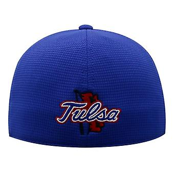 """Tulsa Golden Hurricane NCAA TOW """"Booster"""" Memory Fitted Hat"""