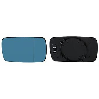 Left / Right Blue Mirror Glass (not Heated) & Holder For BMW 3 Compact 2001-2005
