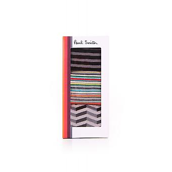 Paul Smith Accessories Mens Triple Mixed Pack Of Socks