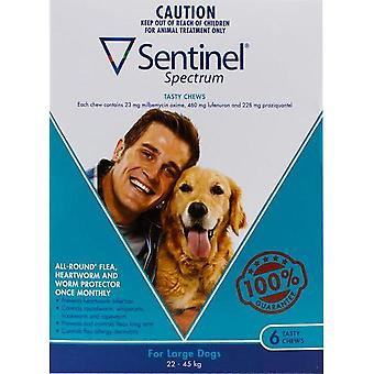 Sentinel Spectrum Dogs 50-100lbs (22-45kg) - 6 Chewables