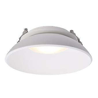 LED recessed ceiling lamp Kaus 14W D 200mm white rotatable IP20