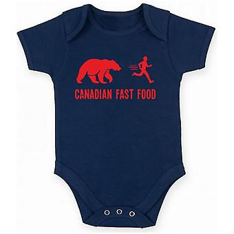 Body neonato blu navy wes0178 canadian fast food