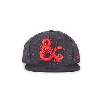 Official Dungeons & Dragons Ampersand Snapback Cap