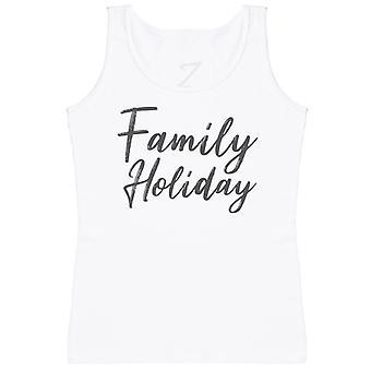 Family Holiday - Matching Set - Baby Vest, Dad & Mum Vest