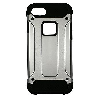 IPhone 8 / IPhone 7 Black And Silver Anti-Shock Case