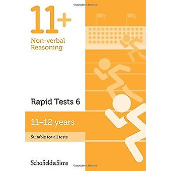 11 Nonverbal Reasoning Rapid Tests Book 6 Year 67 Ages