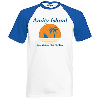 Men's amity island shark t-shirt