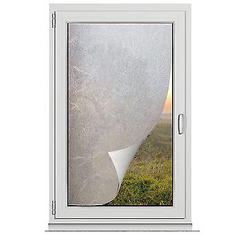 TRIXES Privacy Screen Window Film Frosted Opaque Hidden Glass Effect 45 x 200cm